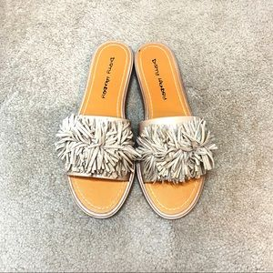 NWOT Dirty Laundry Puff Top Sandals